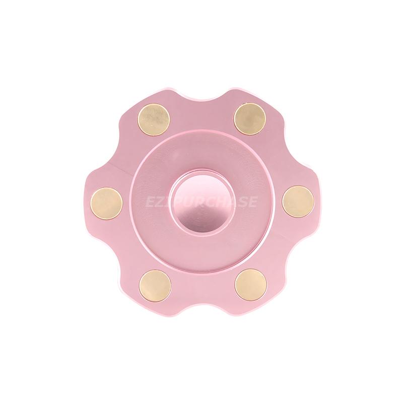 Round Hand Spinner Mini Fid Finger Brass Spin EDC Focus Toys ADHD
