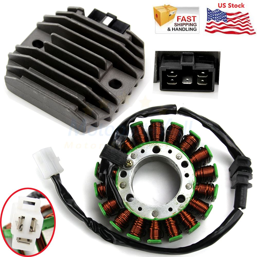 5EB-81410-00-00 SLMOTO Motorcycle Stator Coil Generator Magneto Fit for YAMAHA YZF R6 YZF-R6 1999-2002 2000 2001 Replaces OEM Number