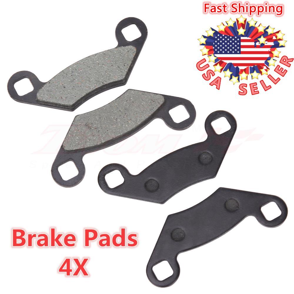 For Polaris Sportsman 500 6x6 2003 2004 2005 2006 2007 Front /& Rear Brake Pads