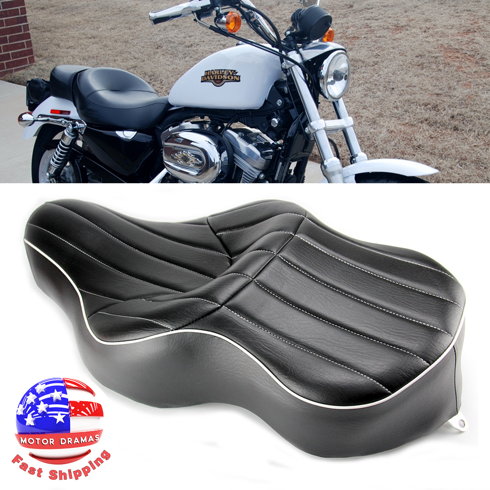 Driver /& Passenger Seat Durable For Harley XL 1200C Custom XL 1200CX Roadster US