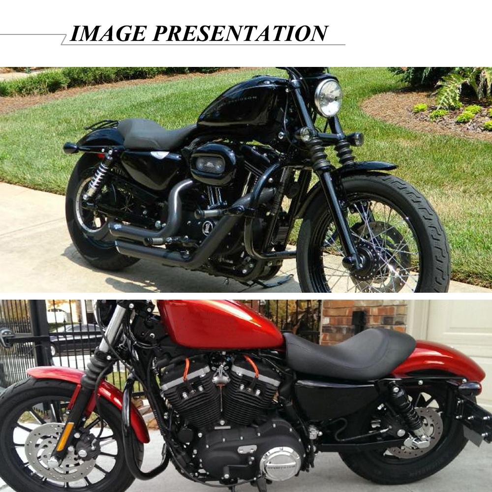 Mustache Engine Guard Highway Crash Bar For Harley Sportster 883 1200 2004-2019