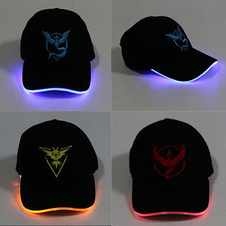 baseball cap with led lights wholesale in brim uk chic light go hat team
