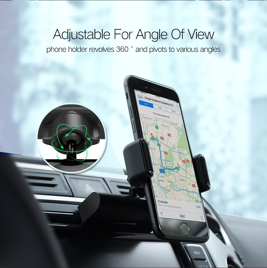 Ugreen Cd Slot Magnet Car Mount Phone Holder For Samsung