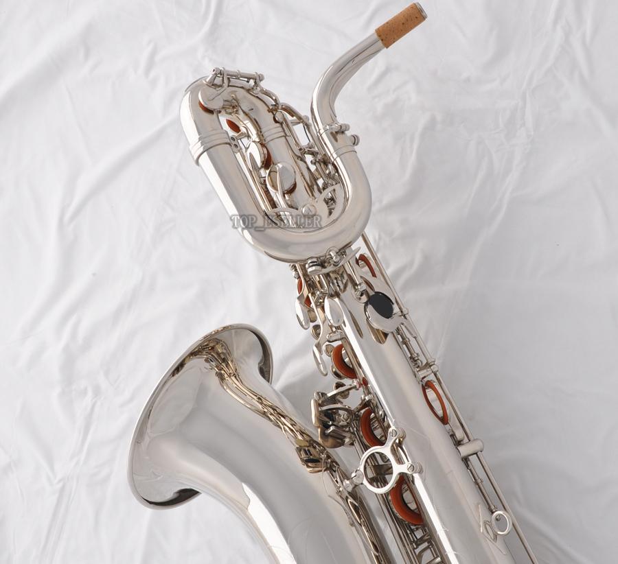 Professional TaiShan Yellow Antique Baritone Saxophone Sax