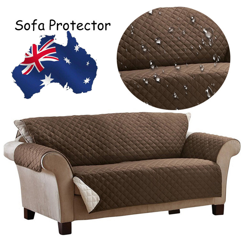 New Waterproof Reversible Quilted Sofa Protector Cover Slipcover Pet Dog Couch Mat Ideas - Style Of Waterproof sofa Cover for Pets Picture