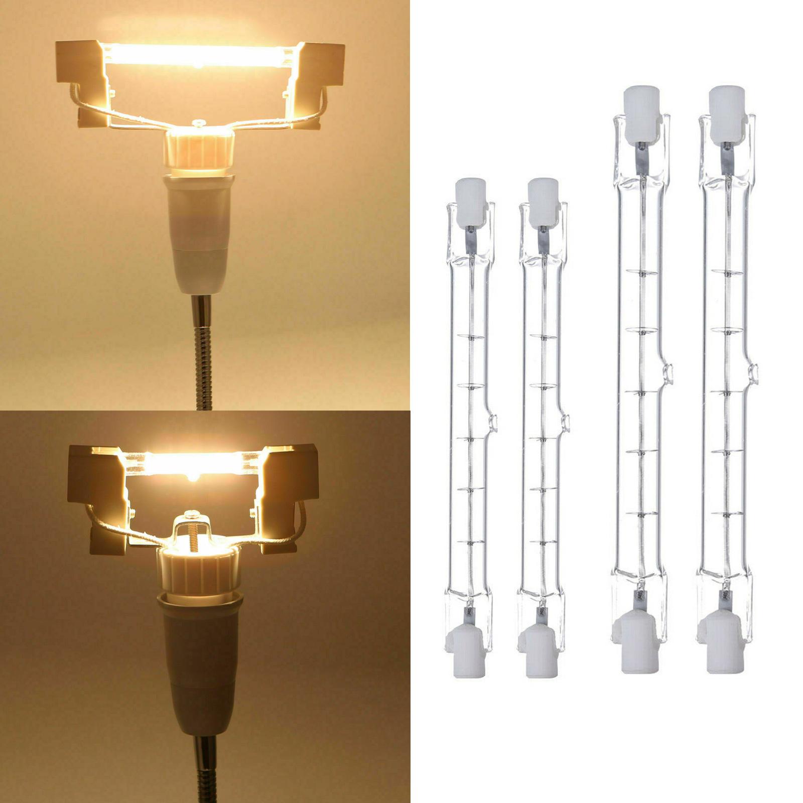 Détails sur 2X J78 J118 R7s 78mm 118mm Halogène Linéaire Ampoule 150W 500W Blanc Lampe RH796