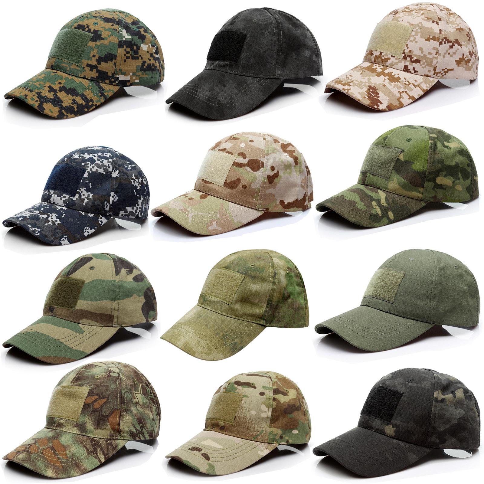 Army Military Operators Baseball Cap Adjustable UV Protection Outdoor Cap