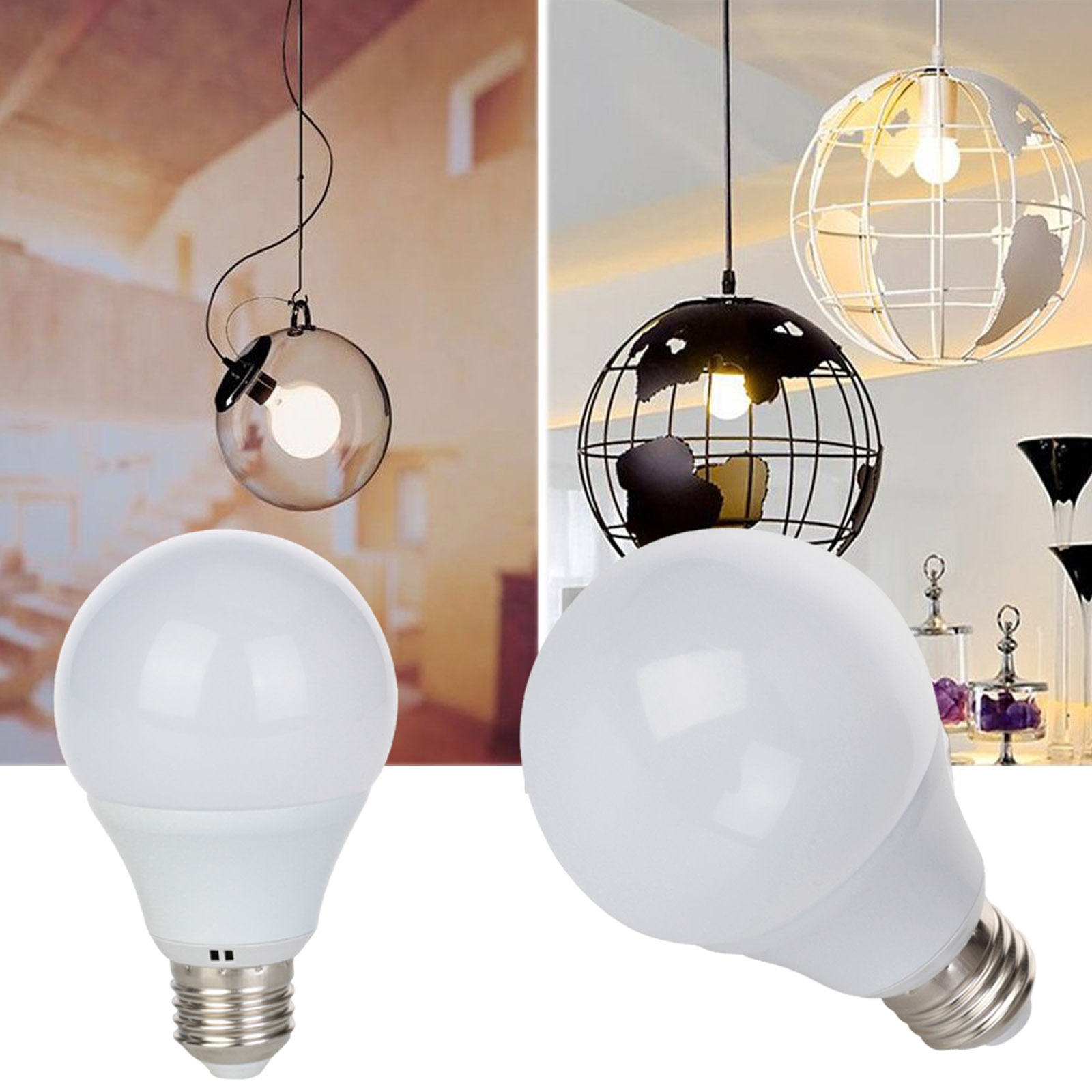 Dimmable Led Globe Light Bulb B22 Bayonet 3w 5w 7w 9w E27 220v White Dimmer Lamp Bright Ebay