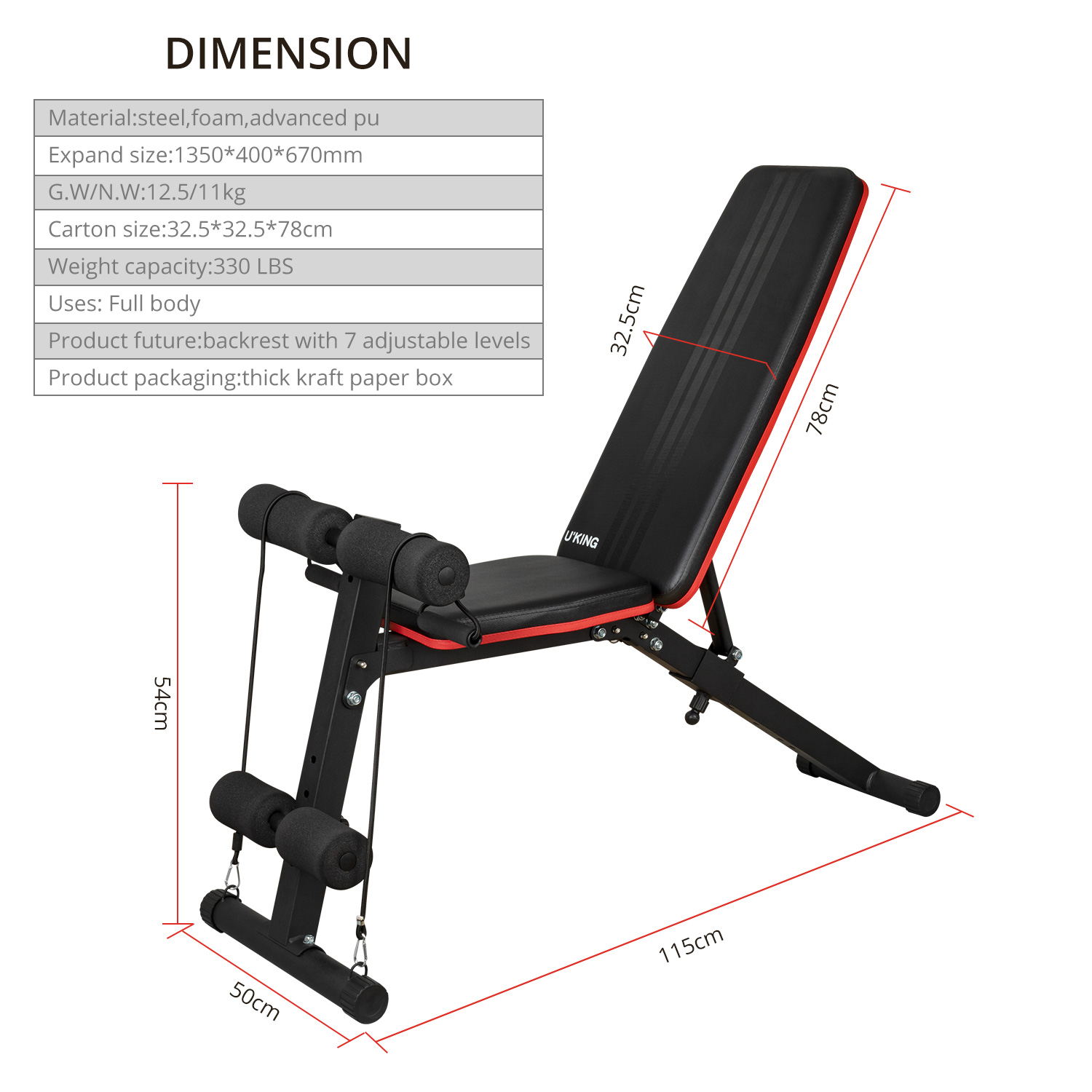 Details About Adjustable Folding Dumbbell Bench Workout Full Body Strength Exercise Home Gym