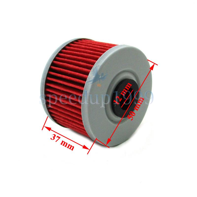 4 Pack HiFlo HF112 Oil Filters Kawasaki KLX 110 140 250 300 450 KL 250 KX 450