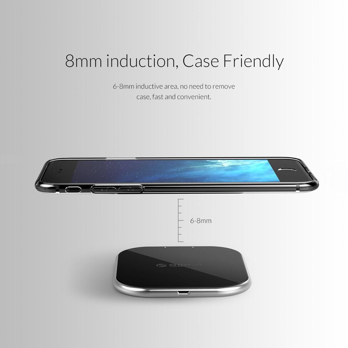 cc2932171c6 ORICO WOC6 10W USB Wireless Fast Charger for Samsung Galaxy iPhone X/8/8Plus