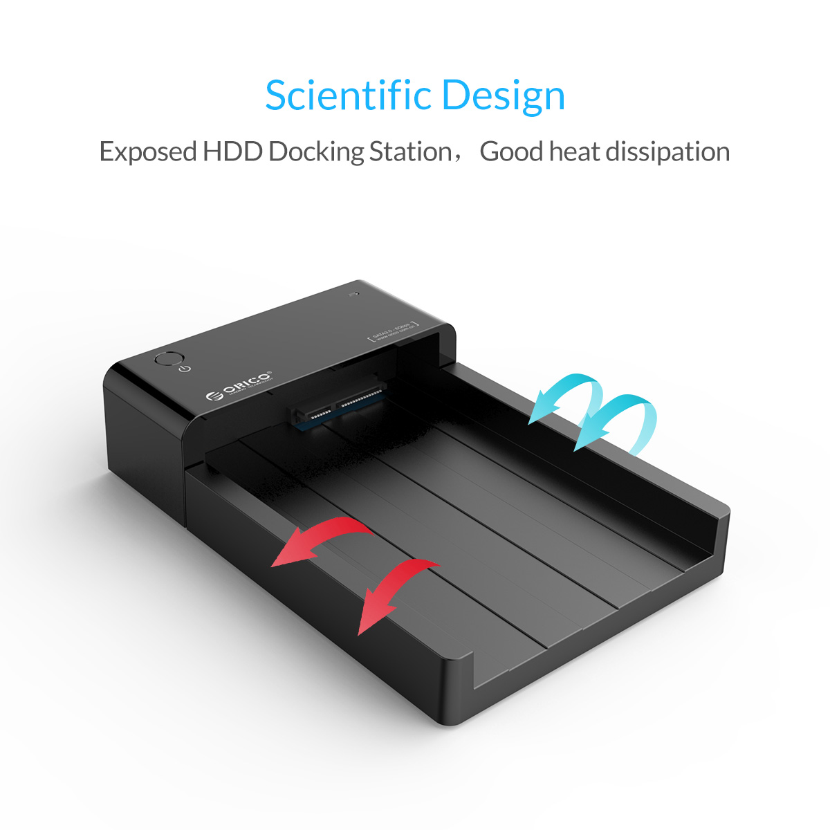 ORICO USB3.0 to SATA 2.5 & 3.5 inch HDD SSD Hard Drive Docking Station Enclosure 116