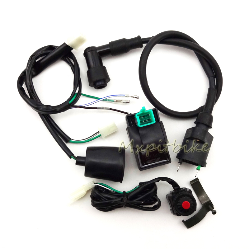 Wiring Harness Kill Switch Ignition Coil Ac Cdi 50cc