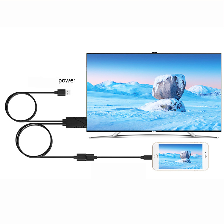Details about USB to HDMI HDTV Adapter Cable for Android and IOS Support  1080P HD Display