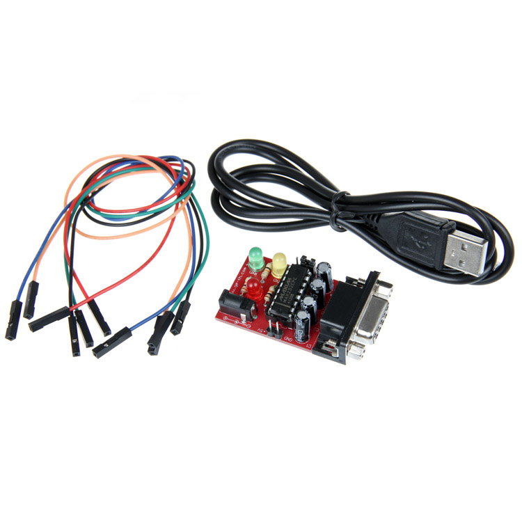 Geeetech RS232 Serial To TTL Converter Module MAX232EPE jumper cable for Arduino