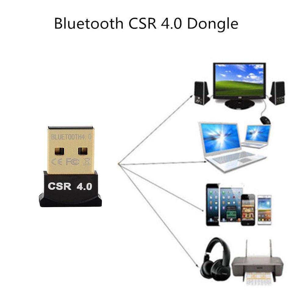 Mini USB Bluetooth V4.0 Dongle Wireless Adapter PC Laptop 3Mbps Speed BSG