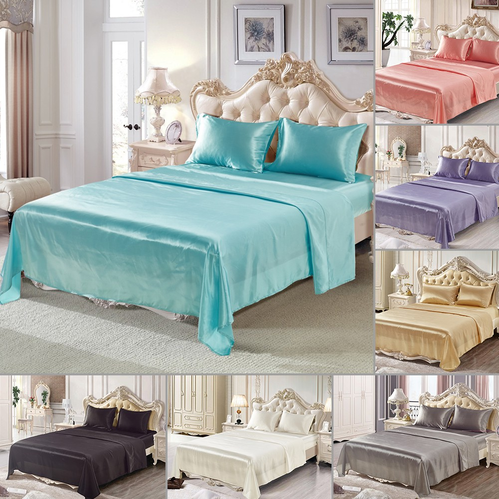 satin silk hotel set china solid duvet product bed bedding cover color quality dxaqyeqolgus