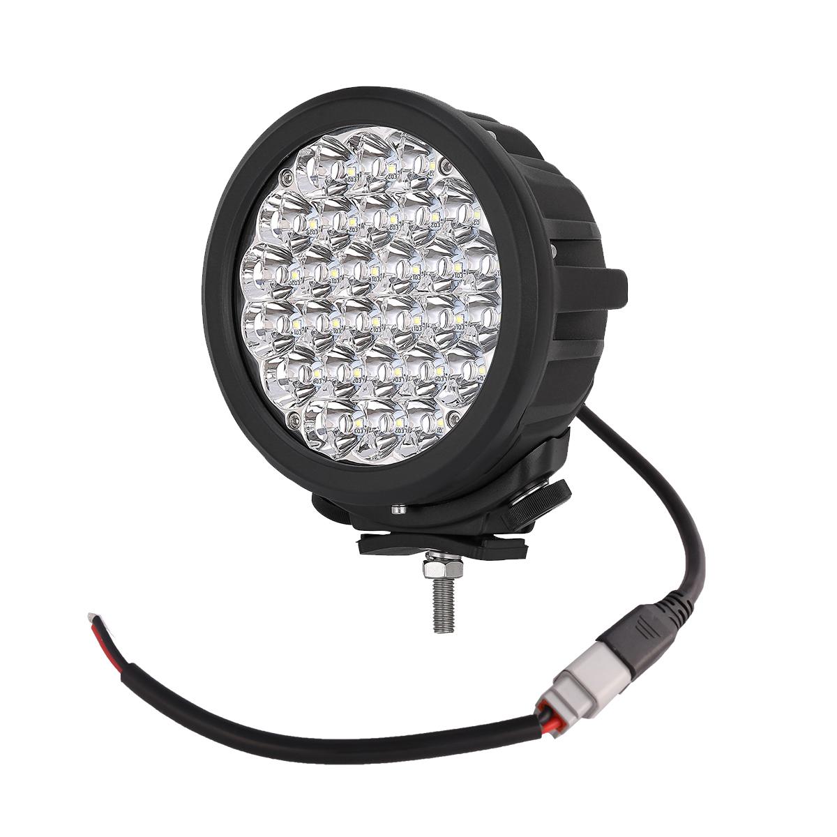 2x 7 U0026quot  Inch 140w Led Offroad Lights Spot Driving Work Fog