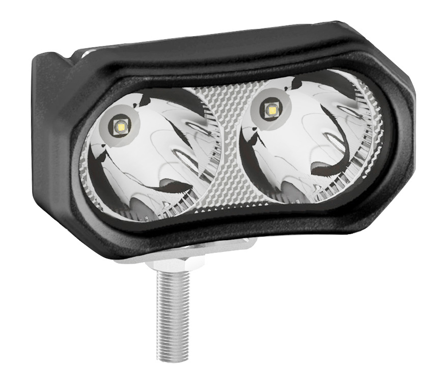 2x 3 6 U0026quot  10w Led Work Light Spot Offroad Driving Fog Lamp