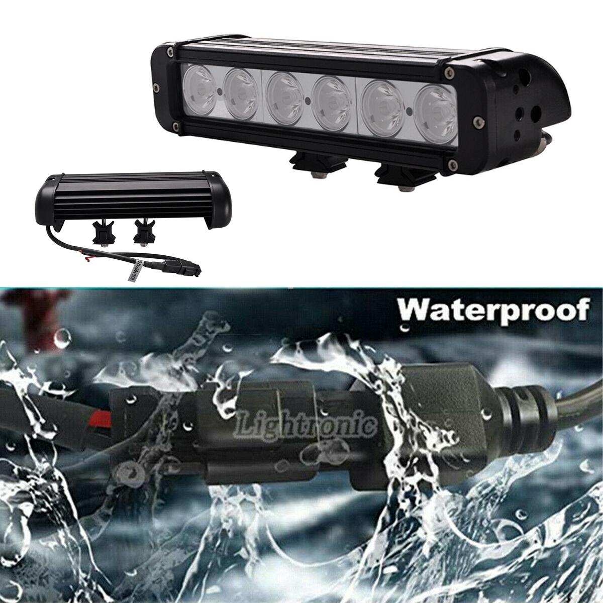 11inch 60w Led Work Light Bar Spot Driving Fog Lamp
