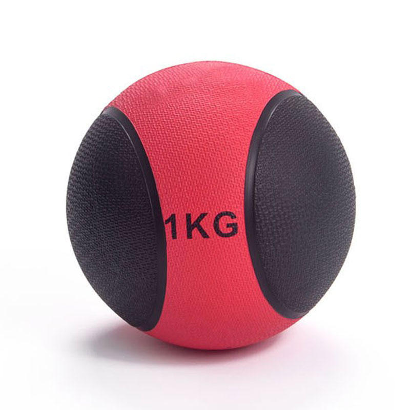 Medicine Ball With Sturdy Rubber Construction And Textured Finish