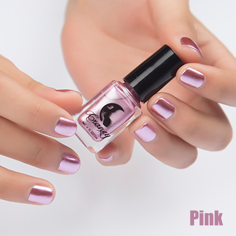 Metallic Nail Polish Magic Mirror Effect Chrome Nail Art ...