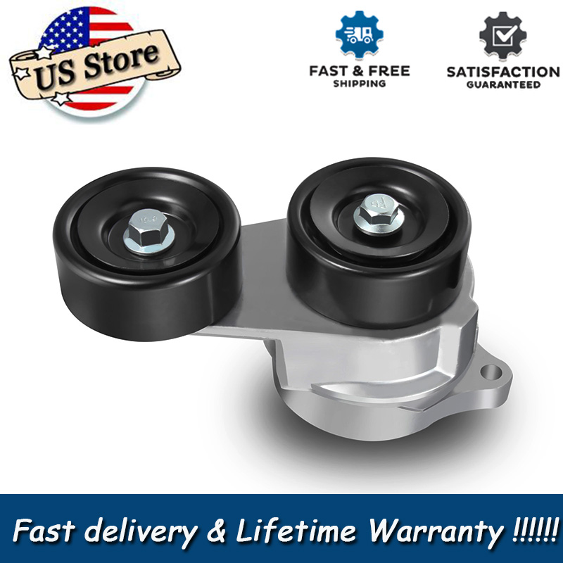 Serpentine Belt Tensioner & Pulley For Odyssey Accord