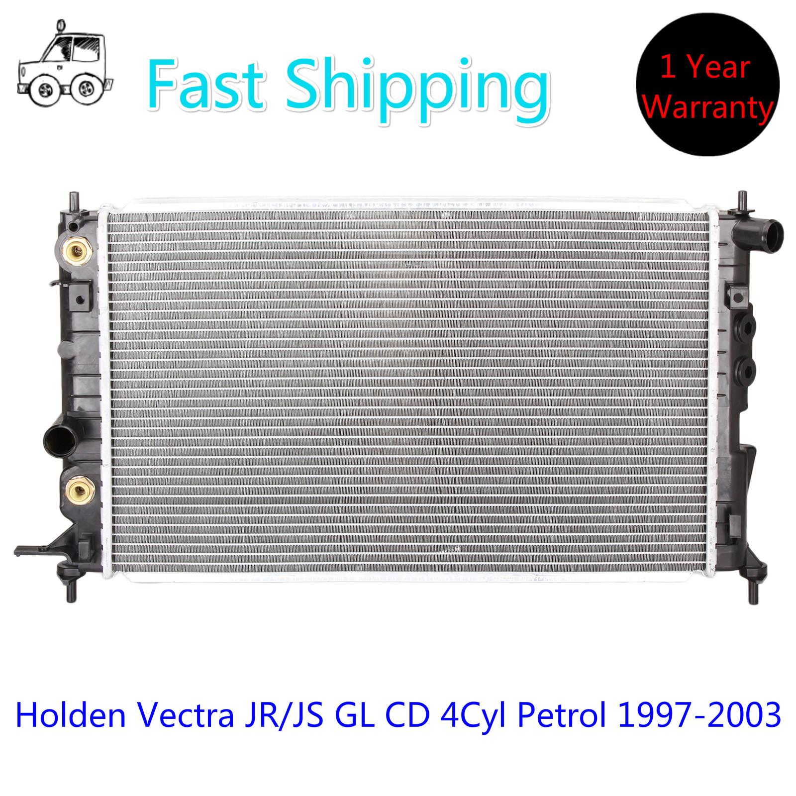 Holden Premium Radiator for Vectra JR/JS GL CD 4Cyl Petrol 1997-2003 Auto/ Manual