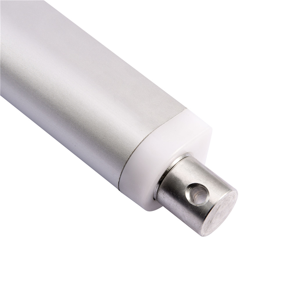 10 Inch Silver Linear Actuator Motor Stroke 225 Pound Max Lift Output 12v Dc 710826193601