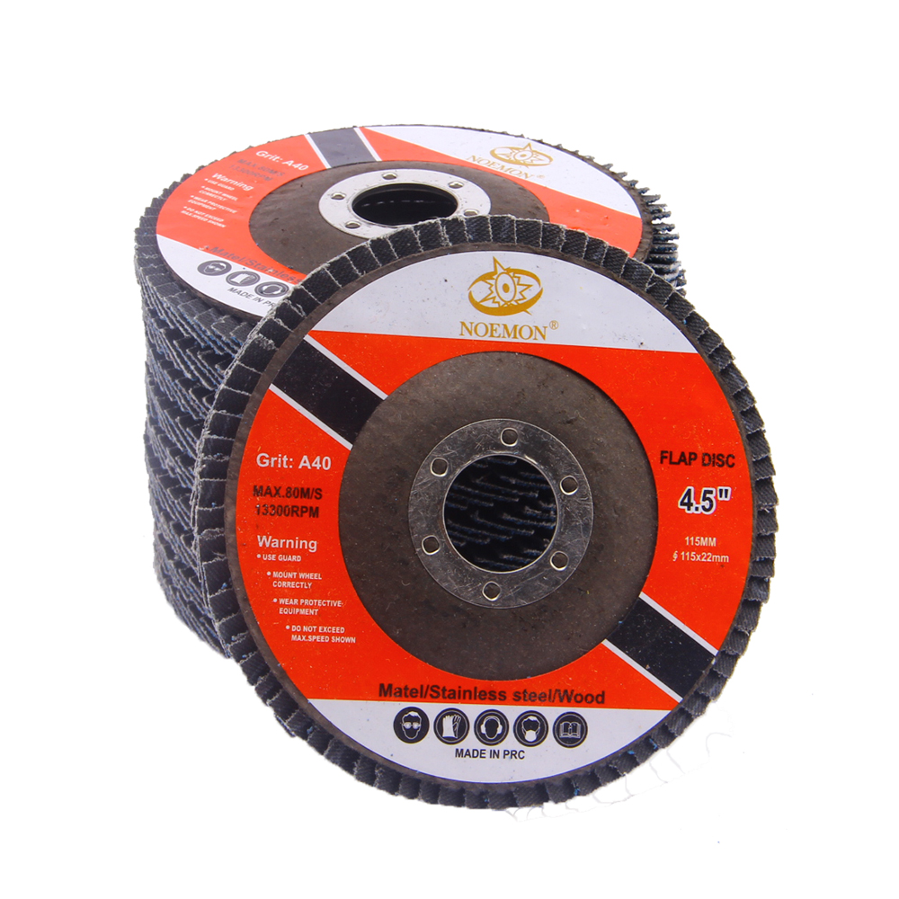 "7/"" x 7//8/"" 40 Grit Zirconia Flap Discs Coarse Grinding Wheels T29 5 Pack"