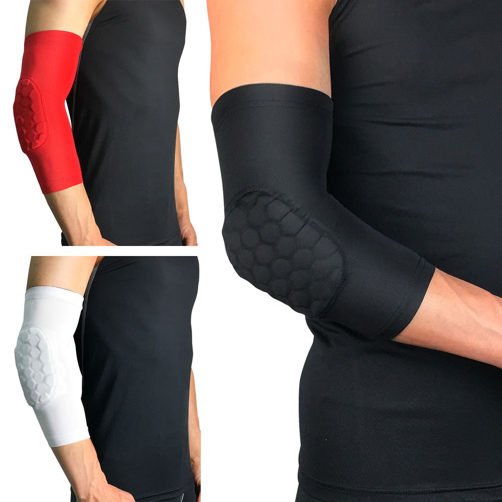 Sports Arm Sleeve Elbow Pads Anti-collision Support Basketball Protection