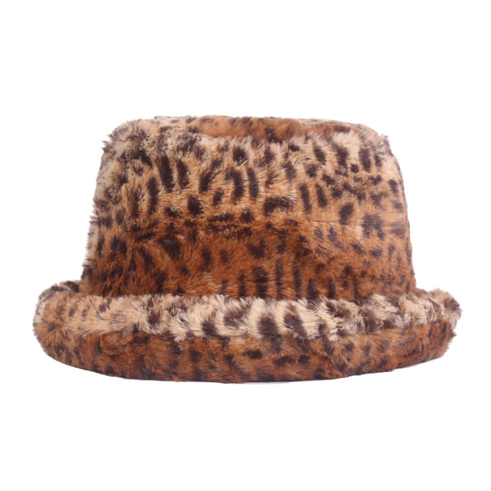 Details about Women Ladies Elegant Leopard Print Bucket Hat Outdoor Casual  Fisherman Cap 8c3b088f920d