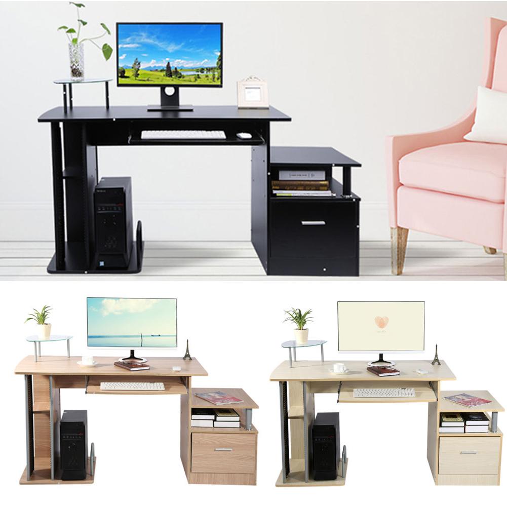 Holz Mehrfunktional Computertisch Schreibtisch