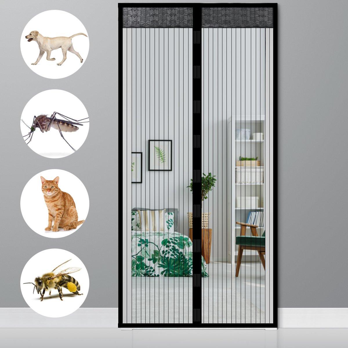magnet fliegengitter magnete fliegenvorhang f r t r balkon. Black Bedroom Furniture Sets. Home Design Ideas