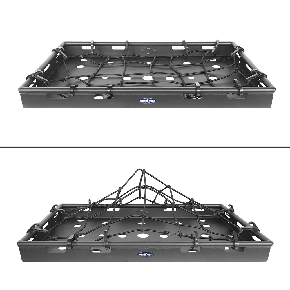 Powder Coated Rear Interior Cargo Carrier Rack For Jeep Wrangler JK 07-18 4Doors