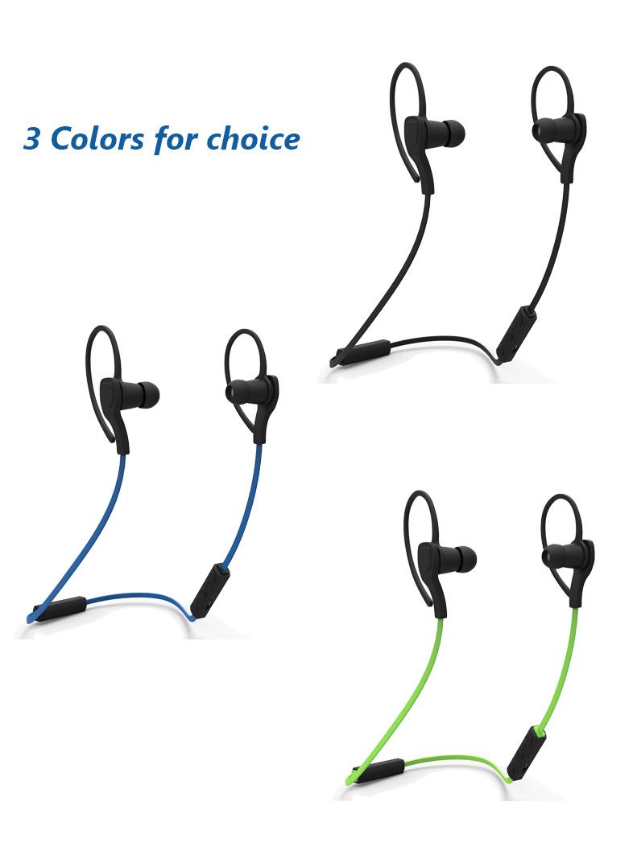 wireless headphones sound stereo bluetooth 4 2 running