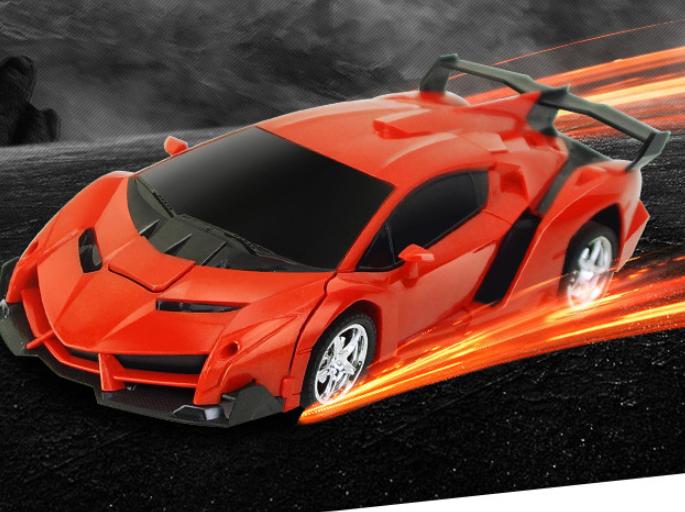 C Transformator Roboter-Auto Ferngesteuert Transformers Auto Car 2,4G 1:18 R