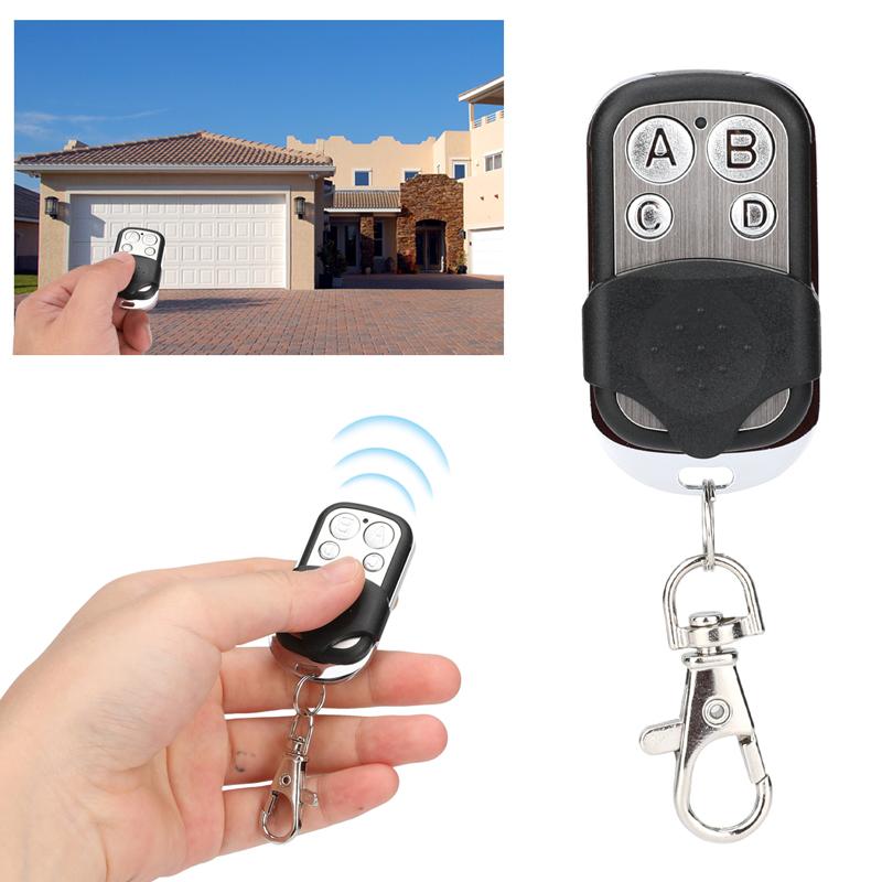 Universal 4 Button Gate Garage Door Opener Remote Control 433.92MHZ Rolling Code