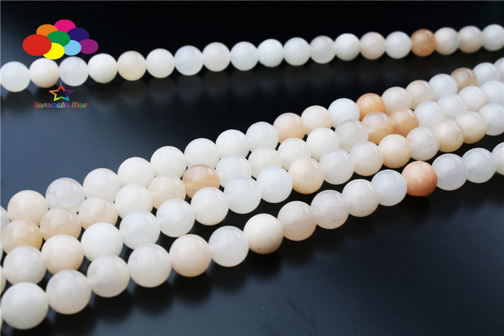 New 4//6//8//10//12mm Natural yellow Aventurine Round Beads fit bracelet necklace