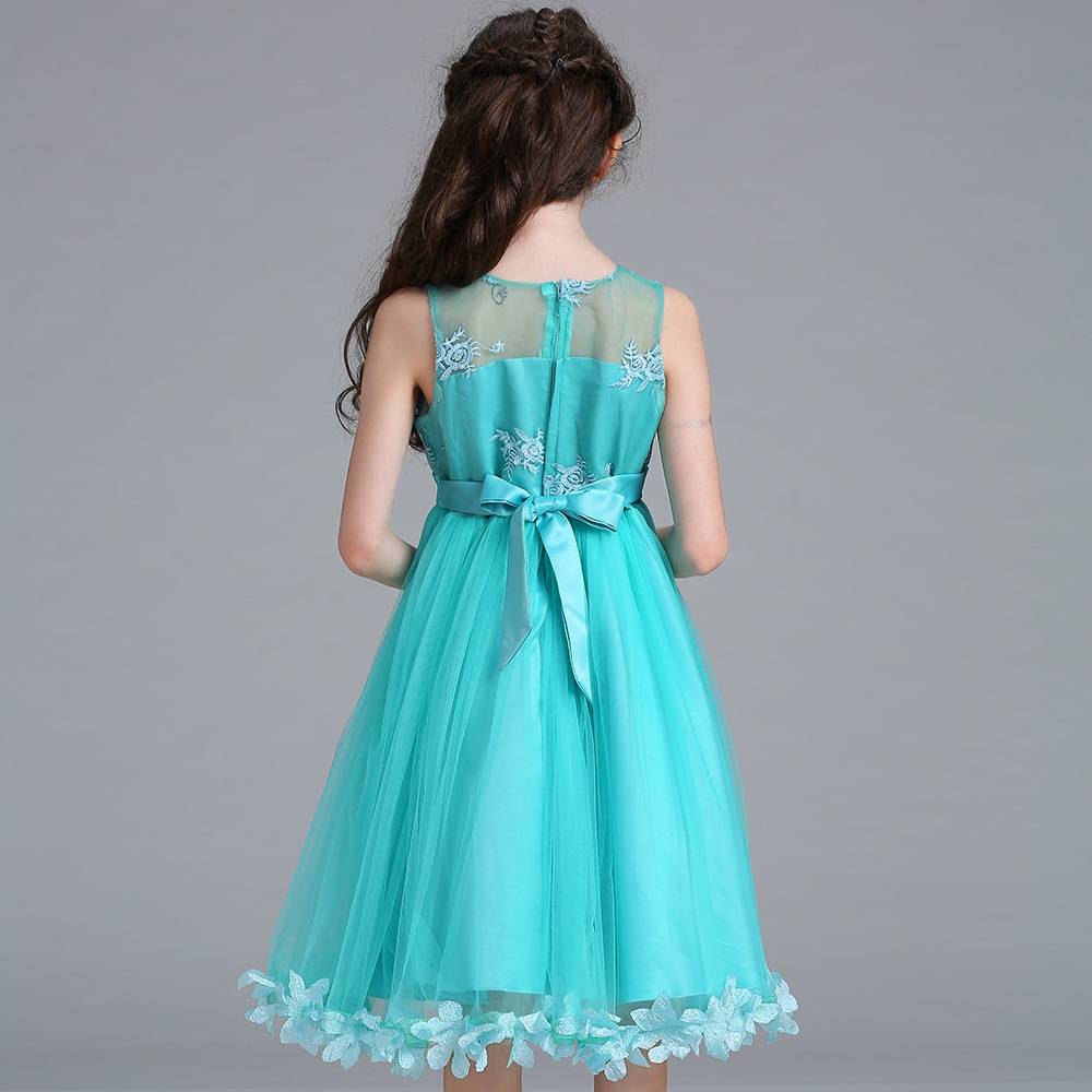 Kids Baby Girls Flower Party Special Occasion Wedding Floral Gown ...