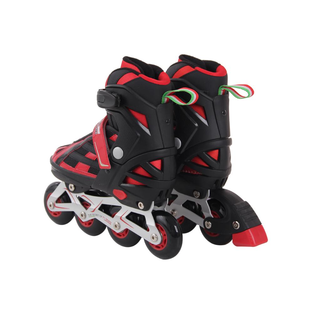 Roller skate shoes malaysia - Junior Inline Skate Roller Blade Racing Rollerblades Black Fk3