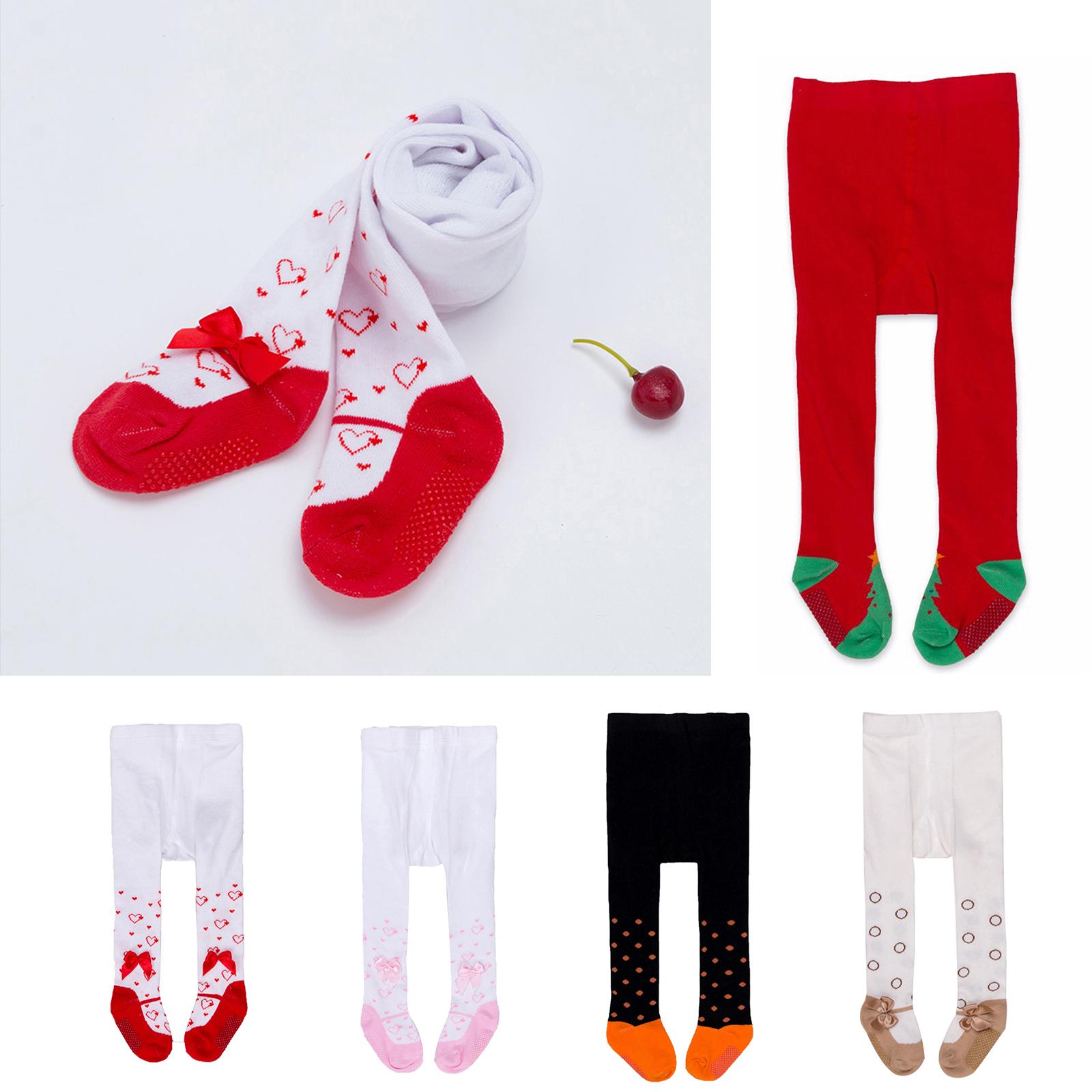 Baby Girls Toddler Kids Cotton Warm Tights Stockings Pantyhose Long Pants Socks