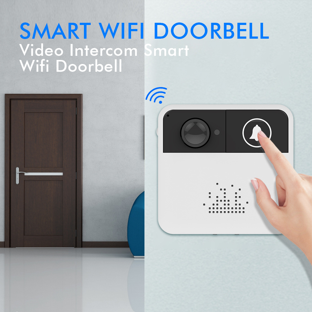 Smart Wireless Wifi Doorbell Hd Video Camera Phone Door