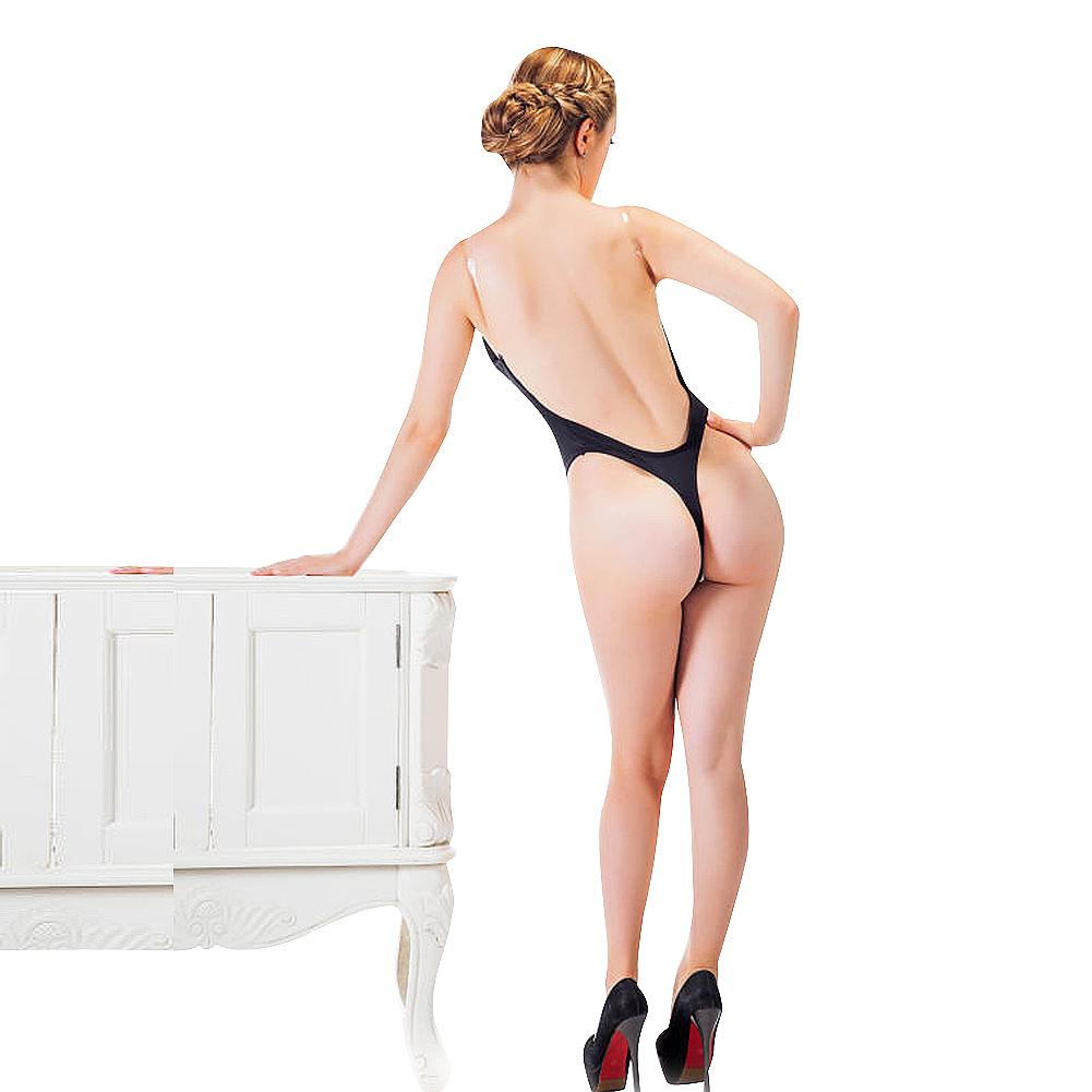 7e10937e43fe3 Shapewear Bodysuit Thong U Plunge Backless Full Body Shaper Push up Bra  Converti
