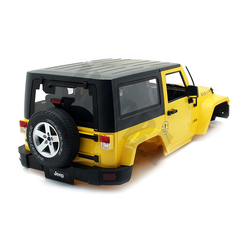 275 Wheelbase Car Shell For 1:10 RC Crawler Jeep Wrangler