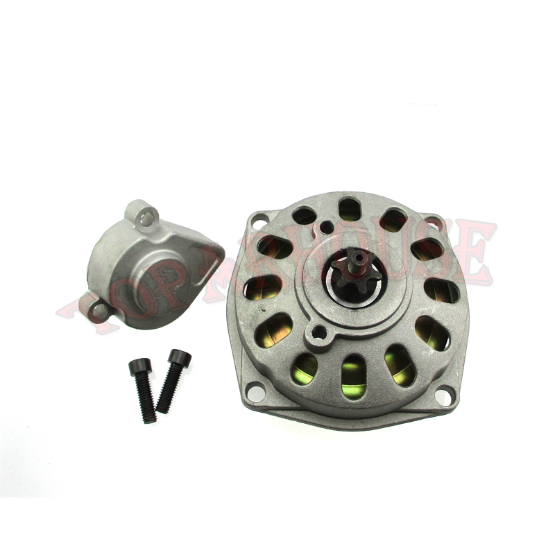 Go Kart Gears Cover : T f clutch drum gear box cover for cc pocket dirt