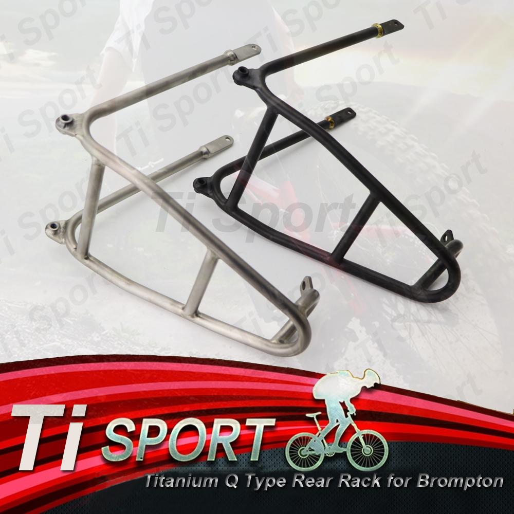 Titanium Mudguard Stays Complete Set for Brompton Bicycle L Type F