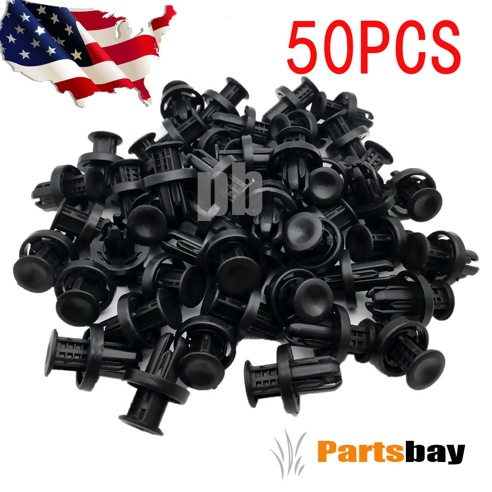 50PCS New Push-Type Clips For Honda & Acura Part OE