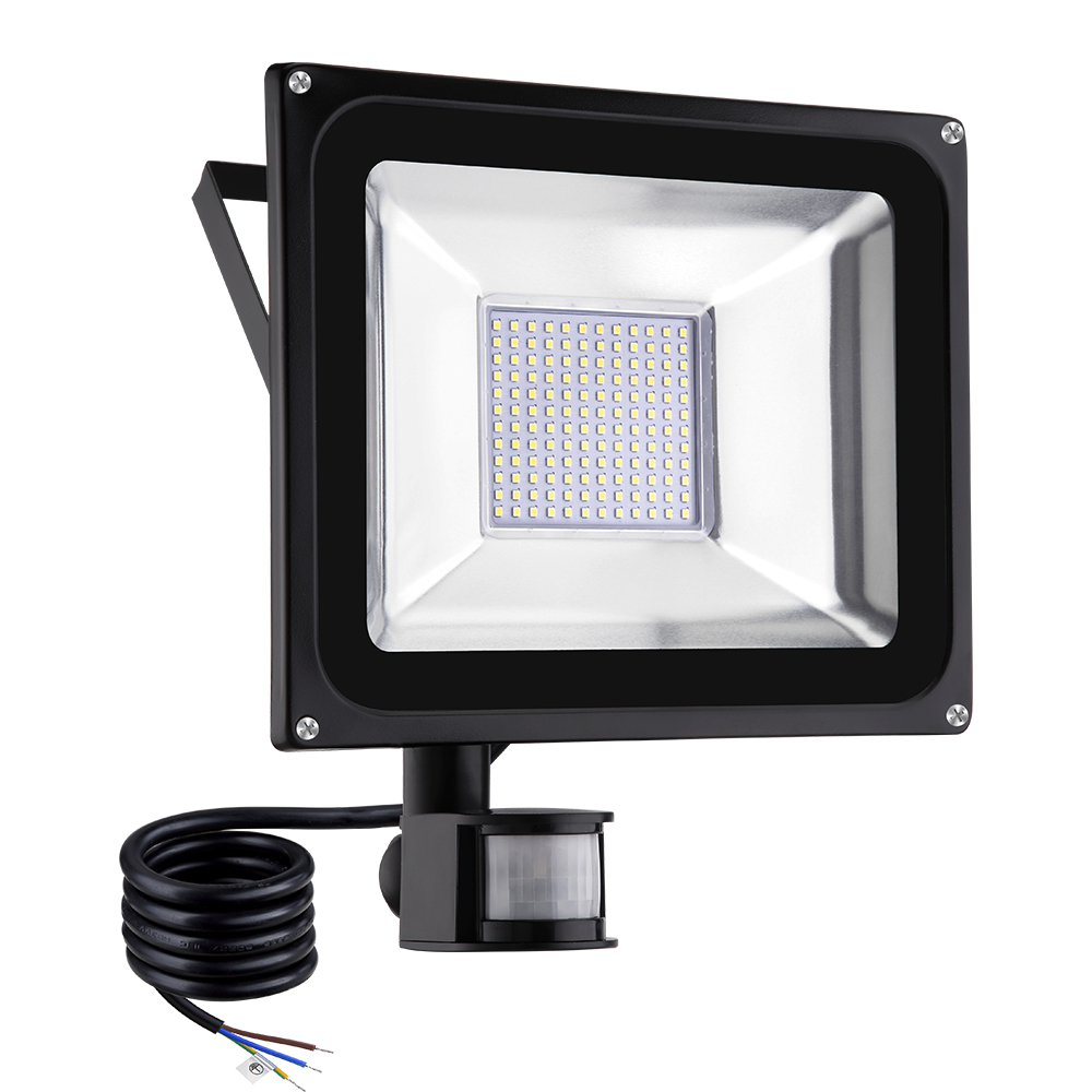 Led Flood Light Keeps Flickering: 2 X 100W LED Flood Light PIR Motion Sensor Security IP65