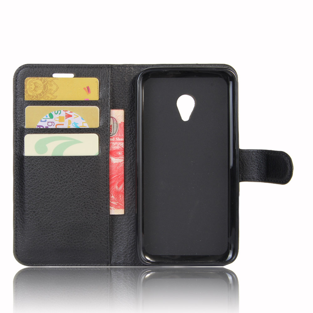 For Alcatel One Touch U5 5047 Magnetic Flip PU Leather Wallet Case Stand Cover